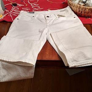 White smooth denim Jean